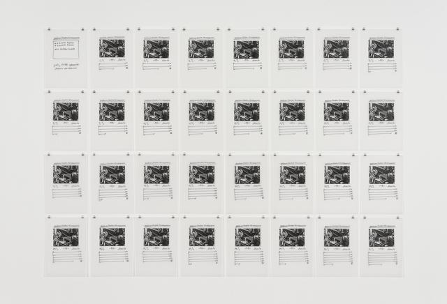 , 'Gustav Stresemann postum,' 1998, Galerie Crone