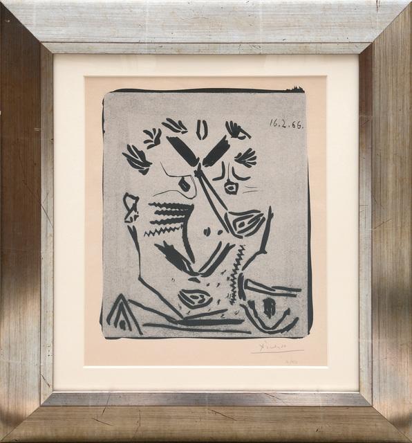 Pablo Picasso, 'Notre Dame de Vie or Portrait d'homme.', 1966, Peter Harrington Gallery