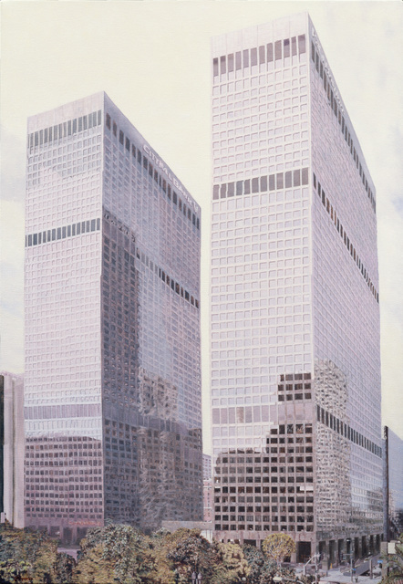 , 'Arco Towers,' 2007, Moskowitz Bayse