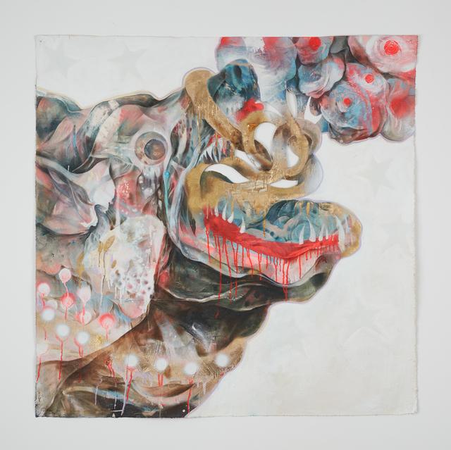 , 'Dog's Bark Break The Night,' 2017, Jack Bell Gallery