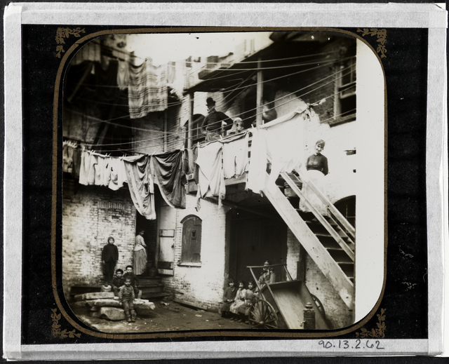 Jacob A. Riis, 'Court at No. 24 Baxter Street', ca. 1980, Museum of the City of New York