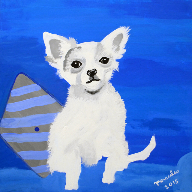 , 'Blue Chihuahua,' 2015, Fountain House Gallery