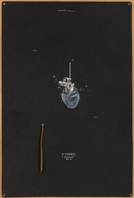 , 'Le mariage de Francis A,' 2016, Wilde