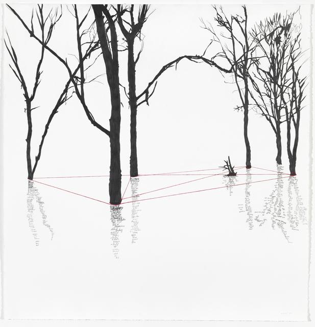 , 'Leitmotif (Thread II),' 2018, Galleri Bo Bjerggaard