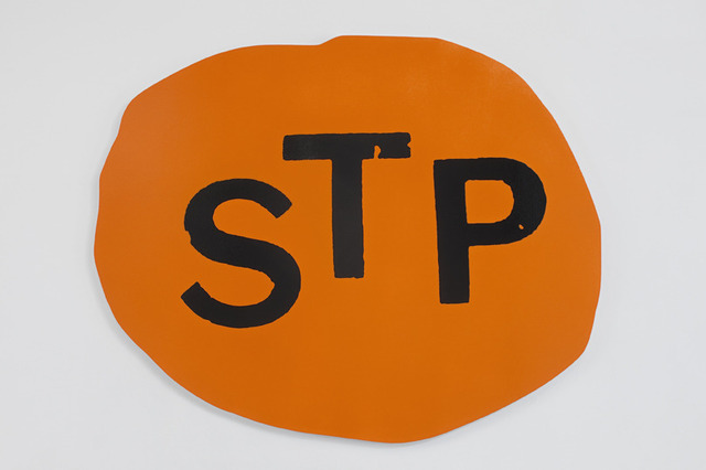 , 'STP (Bright Orange, Black 6 c),' 2014, Moran Moran