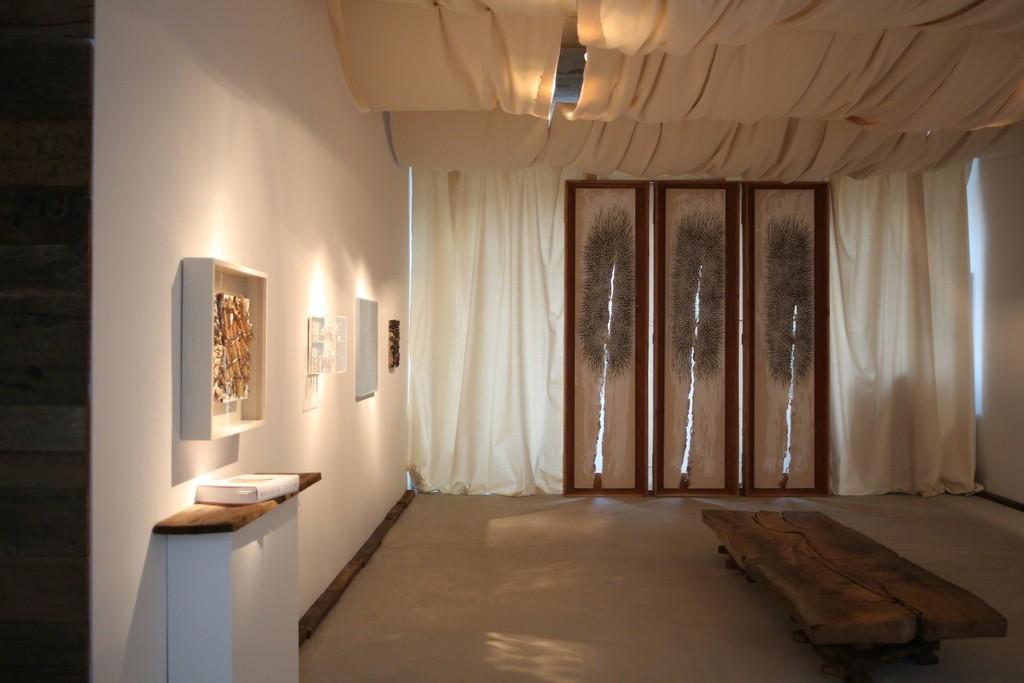 Installation view, Zeroversum - Heinz Mack, Otto Piene und Günther Uecker, Engelage & Lieder, 2015