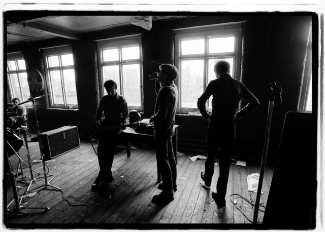 Kevin Cummins, '3. Joy Division, TJ Davidson's rehearsal room, Little Peter Street, Manchester 19 August 1979 ', 2006, Paul Stolper Gallery