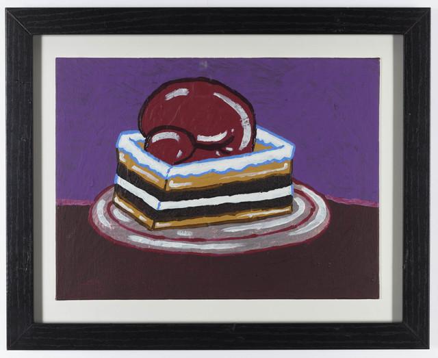 Yukari Sakura, 'The Mohammed Ali Boxer Cake', 2018, Painting, Acrylic on canvas board, Creativity Explored