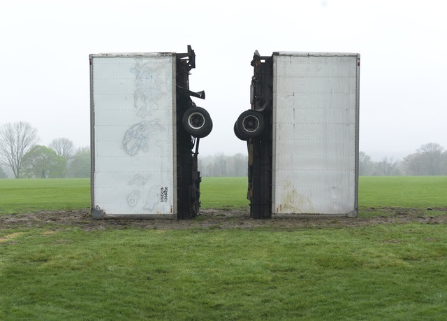 """, '""""At Least They Died Together (After Dash)"""",' 2014, Brant Foundation"""
