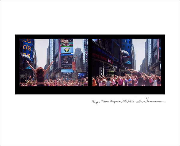 , 'Yoga, Times Square, New York,' 2013, Nohra Haime Gallery