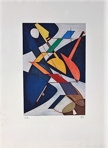 Man Ray, 'Symphony ou Orchestra', 1970, Print, Etching and Aquatint, Kunzt Gallery