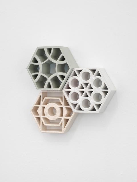 "Nevin Aladağ, '""Jali Wand ABC""', 2018, Sculpture, Glazed ceramic, Wentrup"