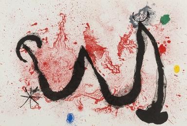 Joan Miró, 'La Danse de feu (Mourlot 341),' 1963, Forum Auctions: Editions and Works on Paper (March 2017)