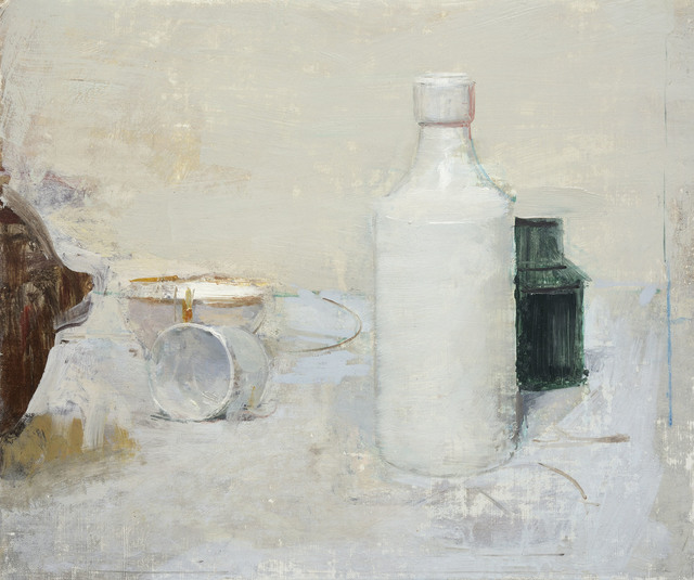 , 'White Composition,' , Jonathan Cooper