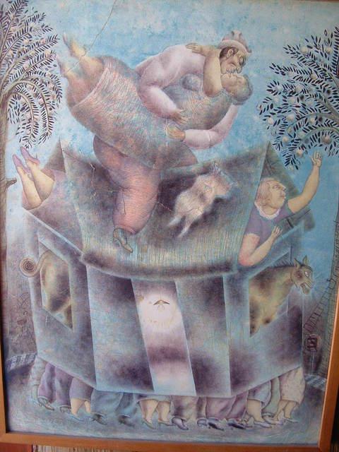 Maximino Javier, 'Casa Movil', 1994, La Mano Magica