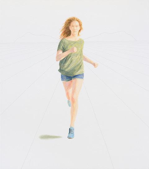 Bernard Ammerer, 'Contemplation 1', 2017, Painting, Oil on canvas, Galerie Frey