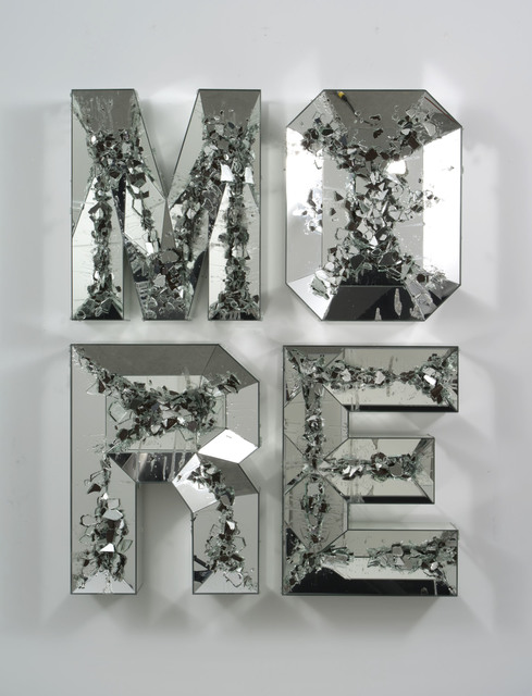 , 'MORE (shattered pour),' 2013, MOCA, Los Angeles