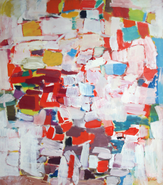 Michael Loew, 'Transparent Whites', 1957, Painting, Oil on Canvas, Anita Shapolsky Gallery