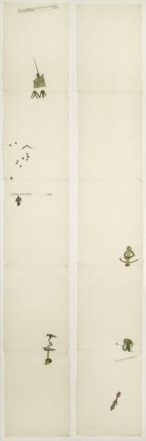 Nancy Spero, 'Codex Artaud XXVIIIa&b', 1972, Punta della Dogana