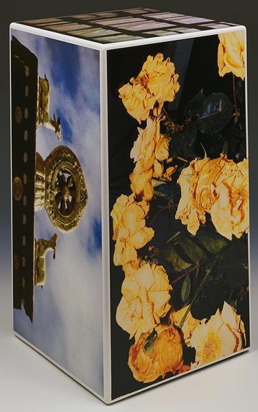 Robert Rauschenberg, 'Tibetan Keys (Rectangle)', 1987, Sculpture, Sculpture with photo-screenprinted decals, Hamilton-Selway Fine Art