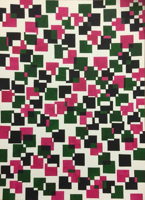 , 'Red, Green & Black,' 2015, Galerie Isabella Czarnowska