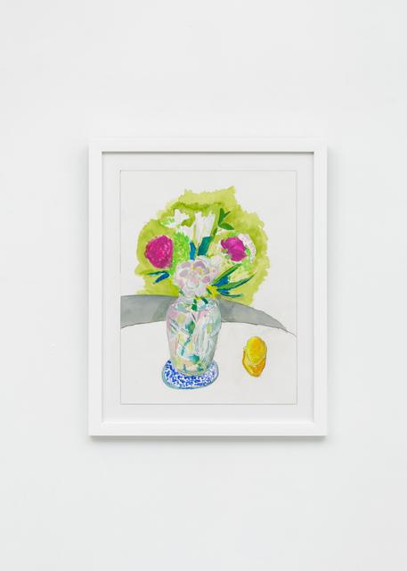 , 'Deco Vase With Flowers I,' 2019, Richard Taittinger Gallery