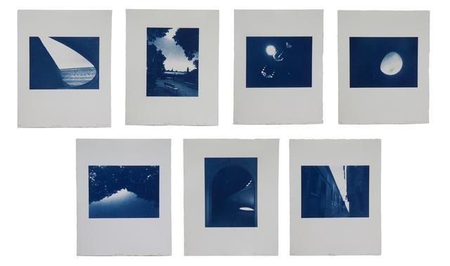 , 'Lightforms: Venice I-VII, Scarpa, Giardini, Kites, Cone, Treeline, Arch, Sliver,' 2016, Cade Tompkins Projects