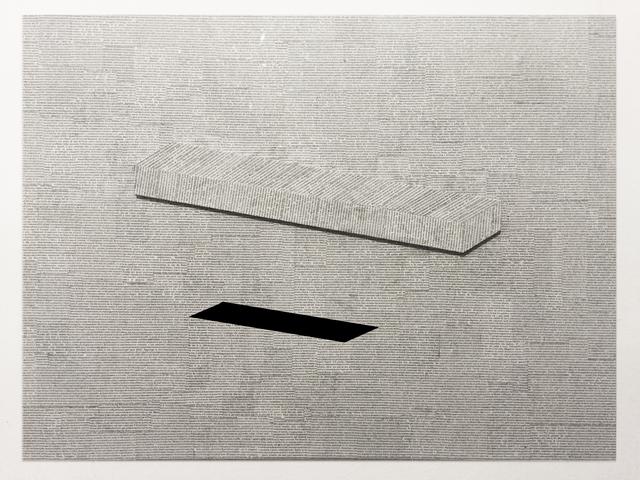 , 'Three feet from the ground,' 2015, Galerie Liusa Wang