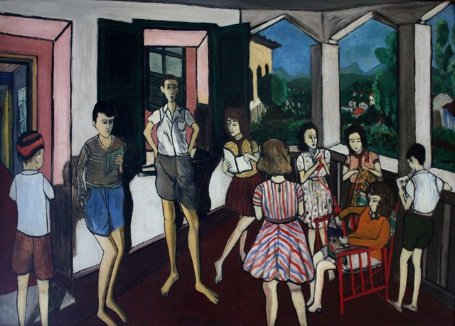 , 'Sala de Leitura,' 1944, Galeria de Arte Ipanema