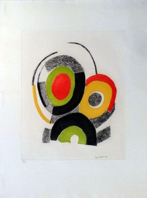 Sonia Delaunay, 'Les illuminations de Rimbaud ', ca. 1970, Le Coin des Arts