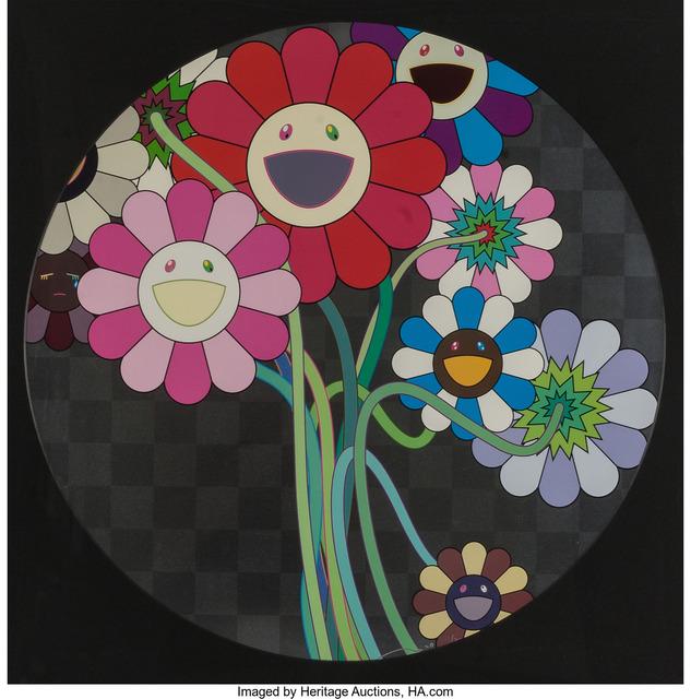 Takashi Murakami, 'Warhol Silver', 2009, Heritage Auctions