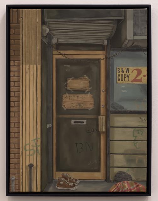 Michael Cline, 'Door', 2019, James Fuentes