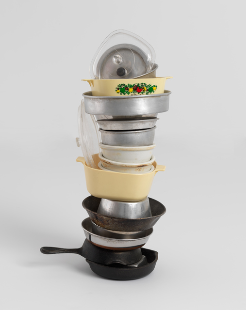 , 'No title (mini stacked pots and pans VI, two CorningWare), 2006,' 2006, Gagosian