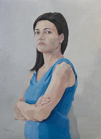 ", '""Retrato de Ana"",' 2017, Sala Parés"