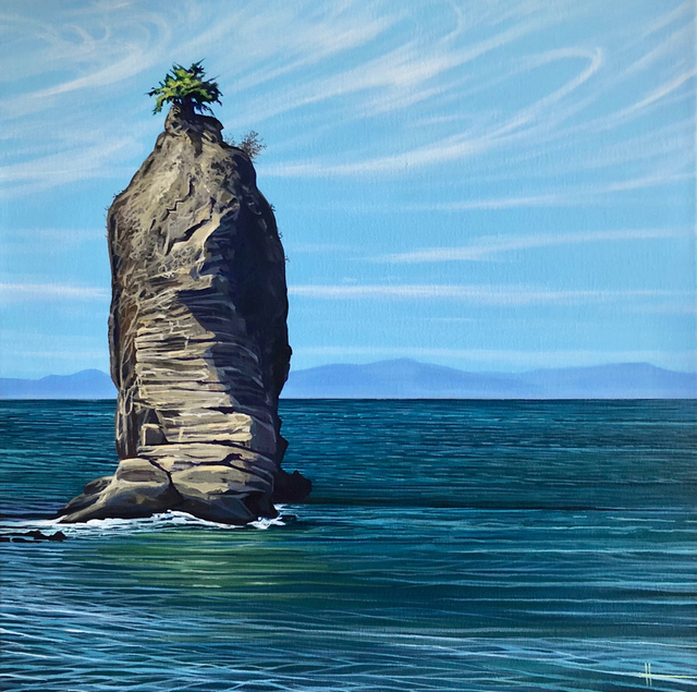 , 'Siwash Rock,' 2018, Fusion Art
