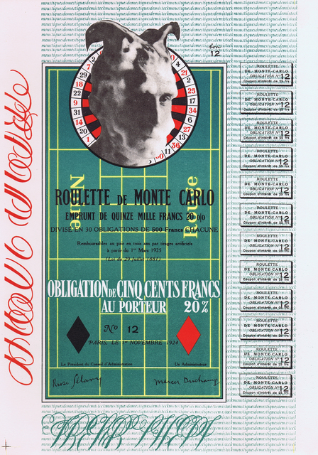, 'OBLIGATION MONTE CARLO / MONTE CARLO BOND,' 1938, Gerrish Fine Art
