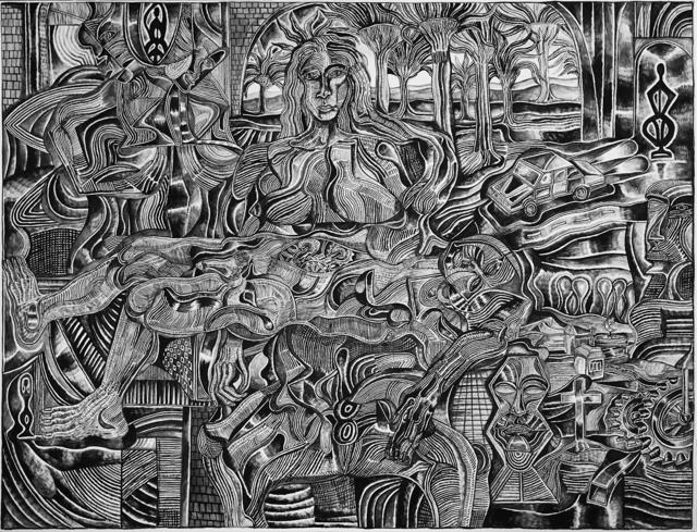 , 'Mechanized Pieta,' 2018, Galerie Droste