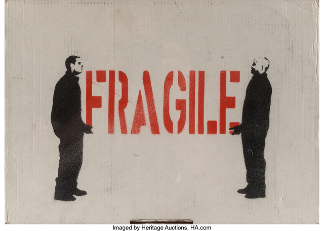 Attributed to Kunstrasen, 'Fragile', n.d., Heritage Auctions