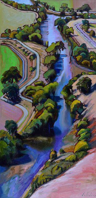 , 'Cerulean Slide,' 2016, Caldwell Snyder Gallery