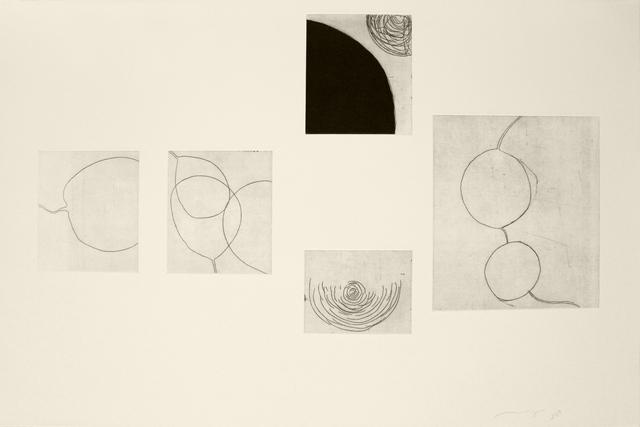 , 'Pausa, separación I,' 2015, Galería Emma Molina