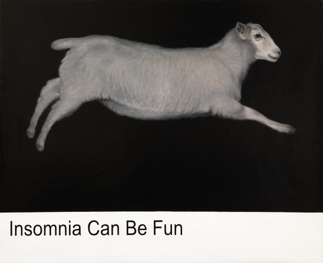 , 'donotcickthru (white sheep),' 2015, Galleria Pack