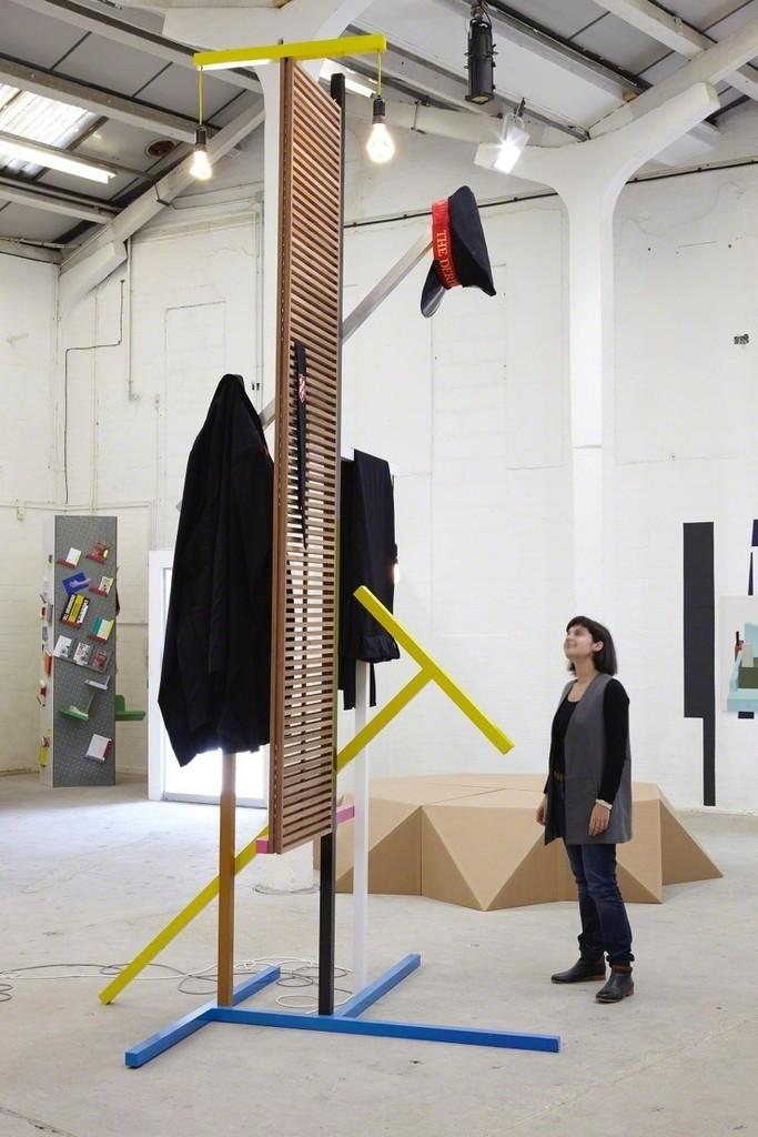 Gavin Wade - T-Type  (After Kiesler and Krischanitz)  photo: Display Show, Eastside Projects, Birmingham