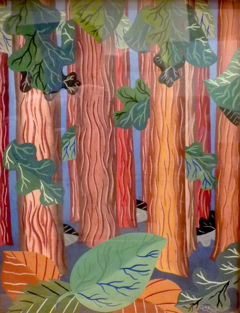 , 'La forêt,' 1937, BAILLY GALLERY