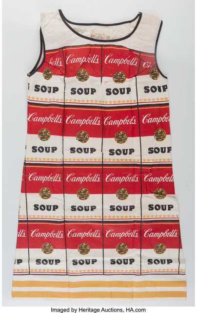 Andy Warhol, 'The Souper Dress (Limited Edition)', 1966-67, Heritage Auctions