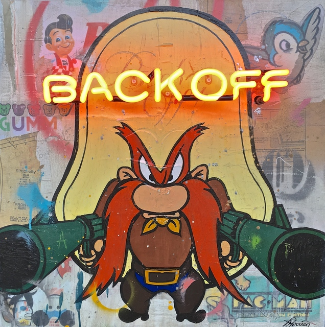 , 'Back Off!,' 2017, Galerie LeRoyer