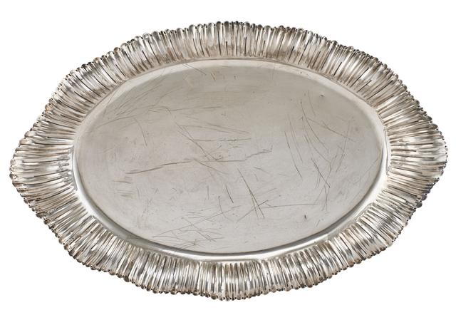 Buccellati, 'Buccellati Sterling Silver Oval Tray', 20th c., Design/Decorative Art, Rago/Wright