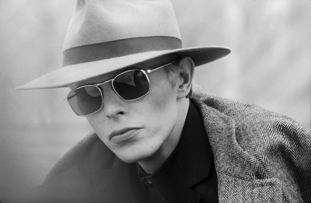 , 'David Bowie with Hat & Sunglasses,' ca. 1975, Mouche Gallery