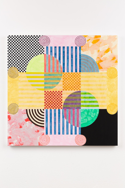, 'Criss-Crossed Columns,' 2018, David B. Smith Gallery