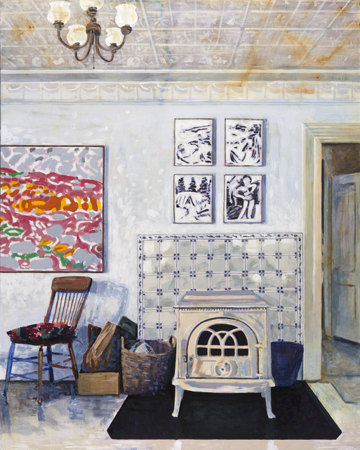 Tessa O'Brien, 'Yellow House Living Room', 2019, Dowling Walsh