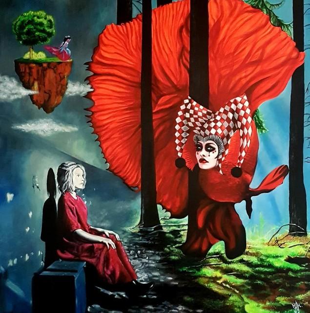 "Julia Manolova, ' ""Dame Karo""', ca. 2016, ARTBOX.GALLERY"